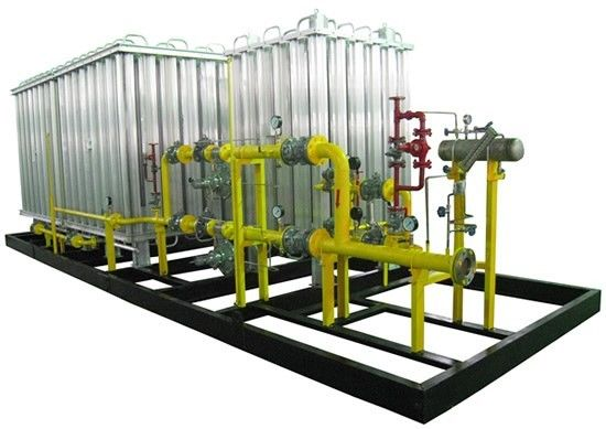 LNG Odorization Cryogenic Equipment Pressurization Skid Mounted Pumping Systems