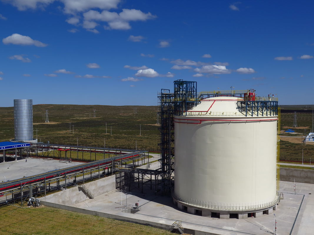 Cryogenic Storage Tanks Full Containment LNG Storage Tank ABAQUS Software