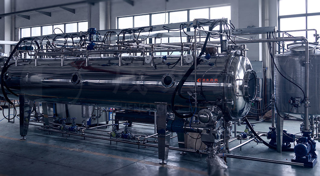 SUS304 Stainless Steel Supercritical CO2 Extraction Machine Vacuum Auto Belt Dryer